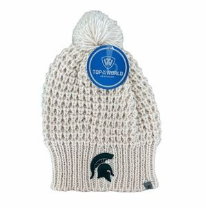 Top Of The World Headwear Michigan State University Spartans Crocheted Beanie